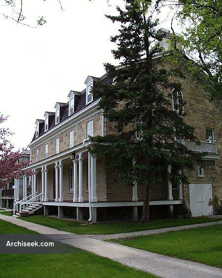 1864 – Archbishop's Palace, Winnipeg, Manitoba