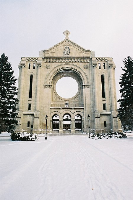 1968 &#8211; Cathdrale de Saint-Boniface, Winnipeg, Manitoba