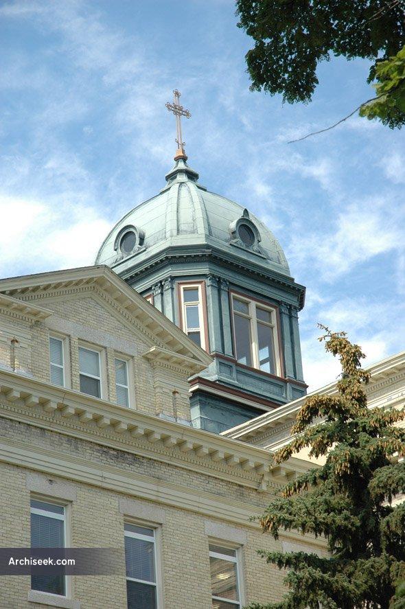 1912 – Former St. Joseph's Academy, St. Boniface, Winnipeg