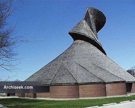 1968 – Église du Précieux-Sang, St. Boniface, Winnipeg, Manitoba