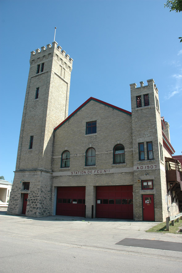 1907 &#8211; St Boniface Fire Hall No.1, Winnipeg, Manitoba