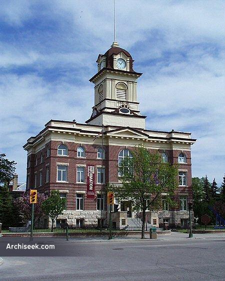 1905 – Hotel de Ville, St. Boniface, Winnipeg, Manitoba