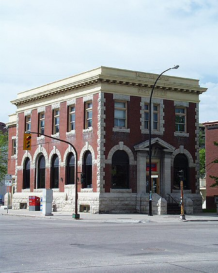 1907 &#8211; Post Office, St. Boniface, Winnipeg, Manitoba