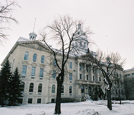 1910 &#8211; Collge universitaire de Saint-Boniface, Winnipeg, Manitoba
