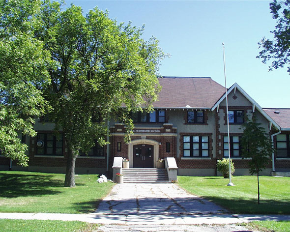 1922 – Assiniboine School, St. James, Winnipeg