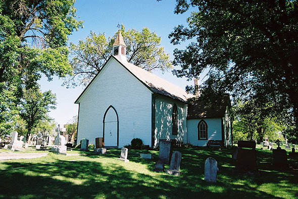 1855 – Old St. James Anglican Church, Winnipeg, Manitoba