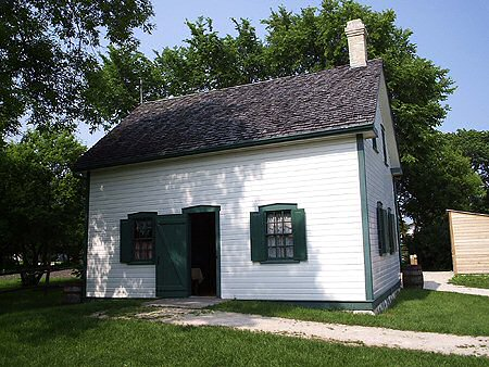 1881 &#8211; Riel House, Winnipeg, Manitoba