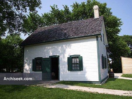 1881 – Riel House, Winnipeg, Manitoba