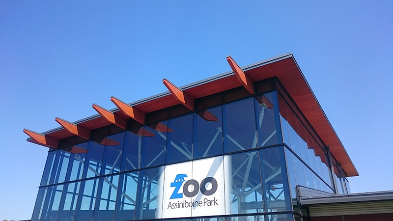 2014 – Entrance Pavilion, Assiniboine Park Zoo, Winnipeg