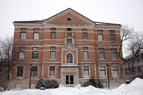 1913 – Fitzgerald Building, University of Manitoba, Winnipeg