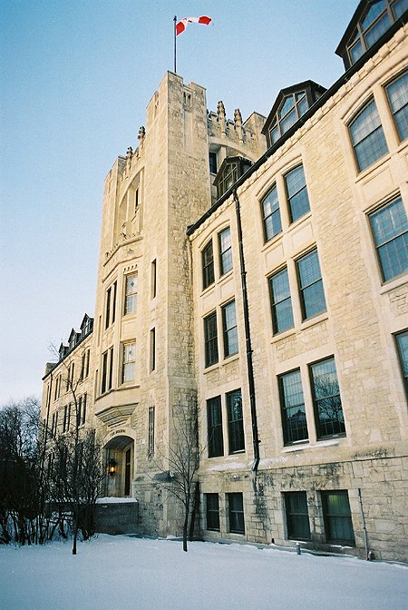 1932 – Tier Building, University of Manitoba, Winnipeg