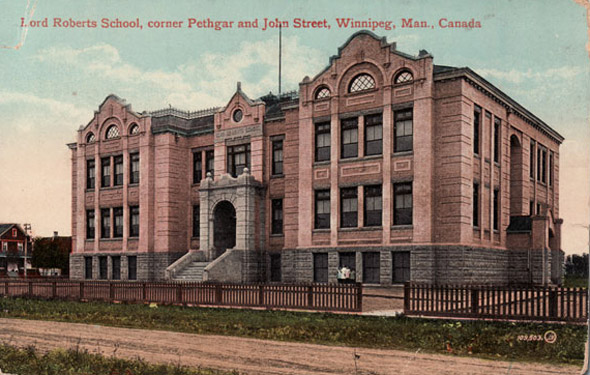 1910 – Lord Roberts School, Winnipeg, Manitoba