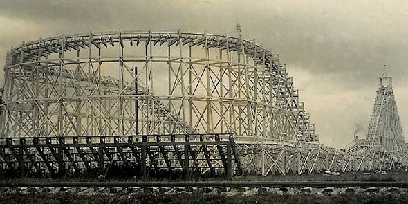 1919 &#8211; Rollercoaster, Winnipeg Beach, Manitoba