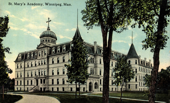 1903 &#8211; St. Mary&#8217;s Academy, Winnipeg, Manitoba