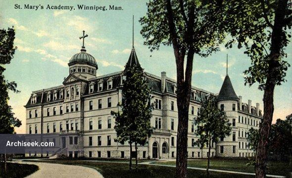 1903 – St. Mary's Academy, Winnipeg, Manitoba