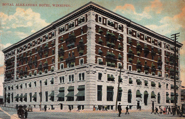 1906 &#8211; Royal Alexandra Hotel, Winnipeg, Manitoba