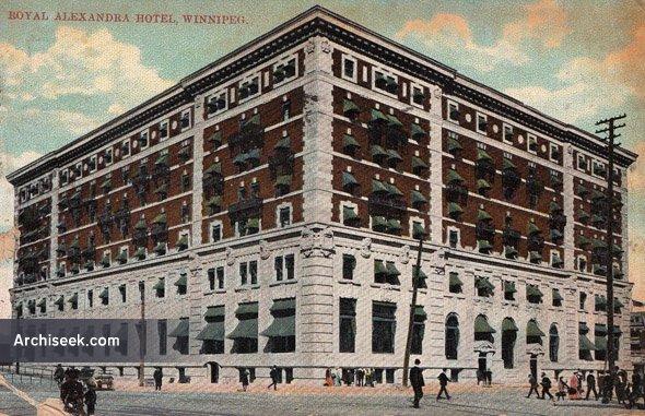 1906 – Royal Alexandra Hotel, Winnipeg, Manitoba