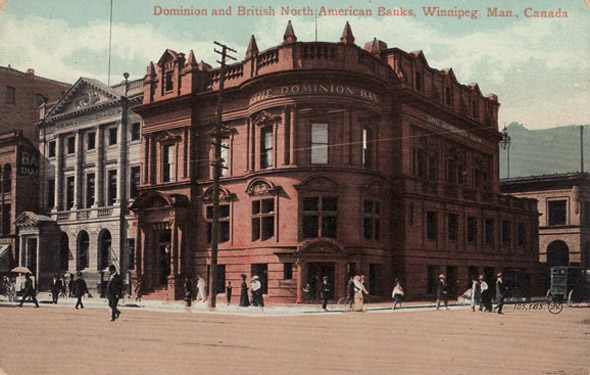 1899 &#8211; Dominion Bank, 440 Main Street, Winnipeg, Manitoba