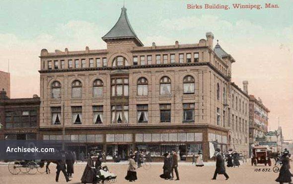 1901 – Former YMCA, Winnipeg, Manitoba