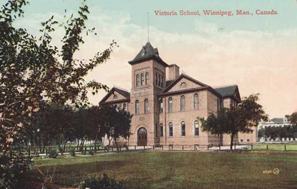1898 &#8211; Victoria School, Winnipeg