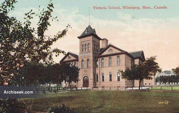 1898 – Victoria School, Winnipeg