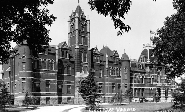 1882 &#8211; Courthouse, Winnipeg, Manitoba
