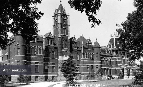 1882 – Courthouse, Winnipeg, Manitoba