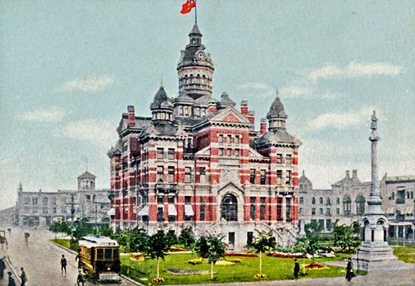 1886 &#8211; City Hall, Winnipeg, Manitoba