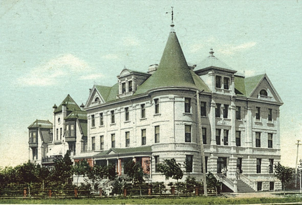 1891 – Deaf & Dumb Institute, Winnipeg, Manitoba