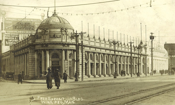 1912 &#8211; Free Exposition Building, Winnipeg, Manitoba