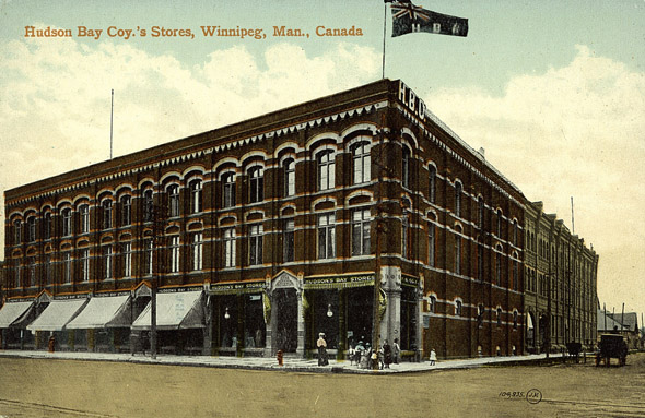 1881 &#8211; Hudson&#8217;s Bay Company, Winnipeg, Manitoba