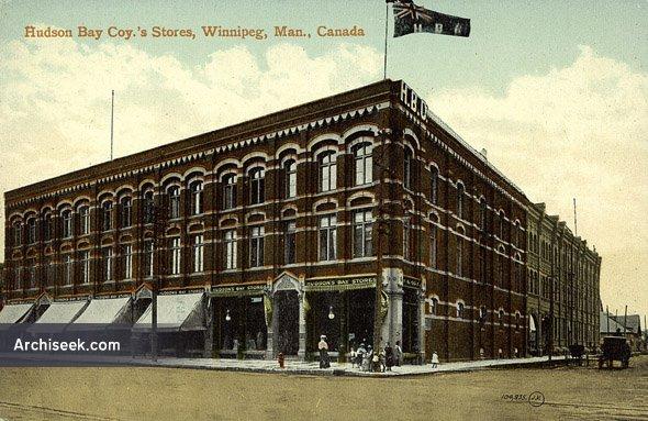 1881 – Hudson's Bay Company, Winnipeg, Manitoba