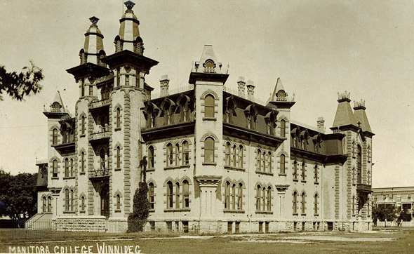1882  – Manitoba College, Winnipeg