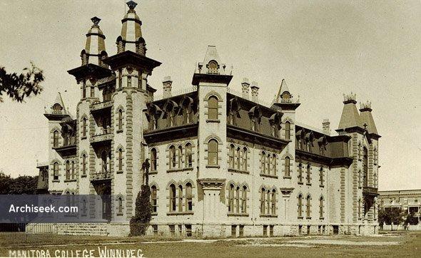 1882  – Manitoba College, Winnipeg