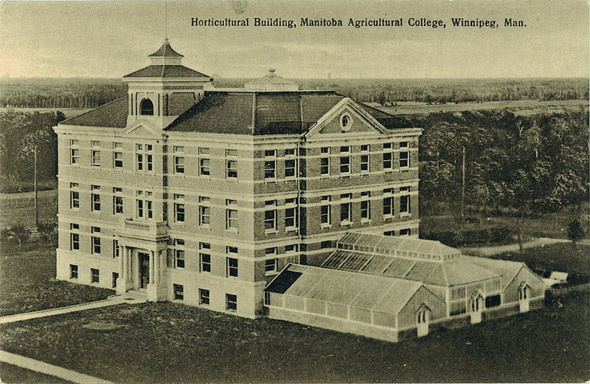 1912 – Human Ecology Building, University of Manitoba