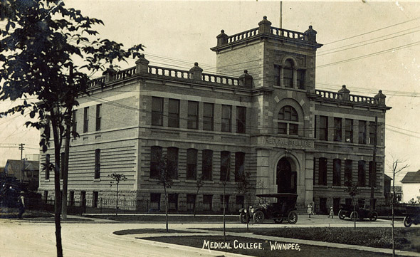 1922 – Medical College, 770 Bannatyne Avenue, Winnipeg, Manitoba