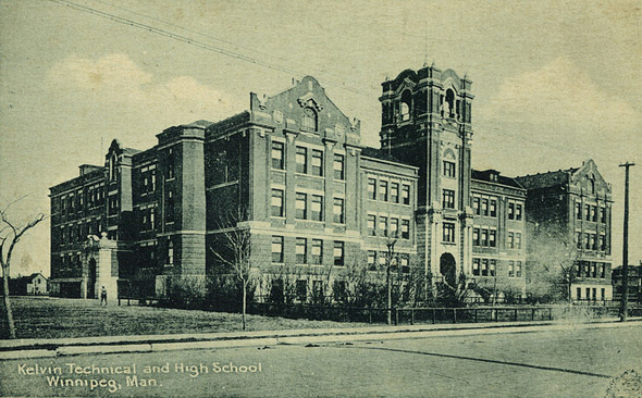 1912 – Kelvin Technical & High School, Winnipeg, Manitoba