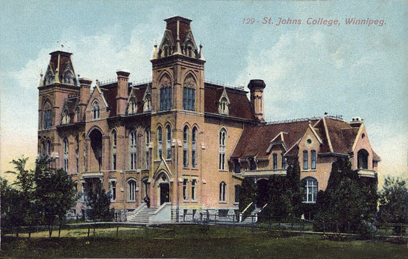 1883 &#8211; St. John&#8217;s College, Winnipeg, Manitoba