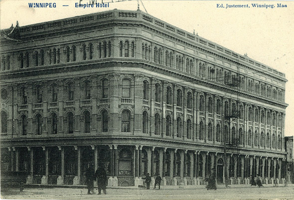 1905 – Empire Hotel, Winnipeg, Manitoba