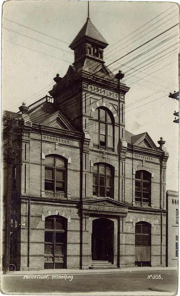 1883 &#8211; Police Court, Winnipeg, Manitoba