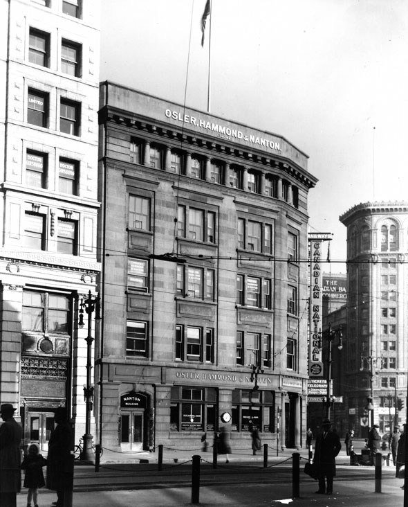 1907 – Nanton Building, Portage Avenue, Winnipeg