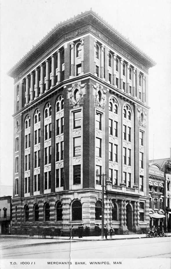 1902 &#8211; Merchants Bank, Main Street, Winnipeg