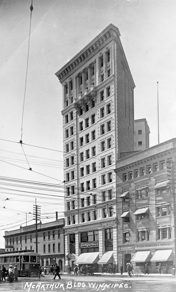1909 &#8211; Child&#8217;s Building, Portage Avenue, Winnipeg