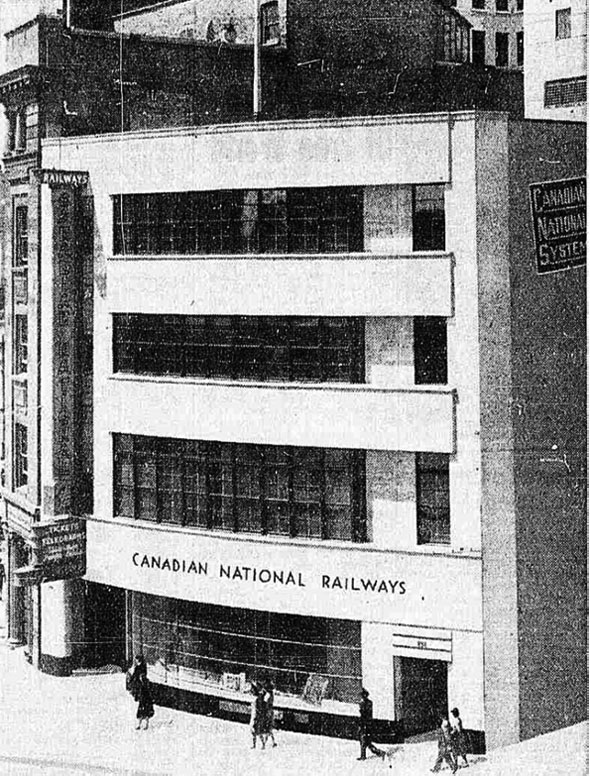 1942 &#8211; Canadian National Building, Winnipeg