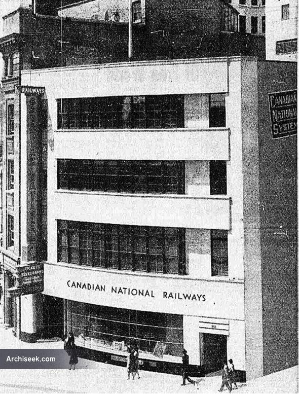 1942 – Canadian National Building, Winnipeg