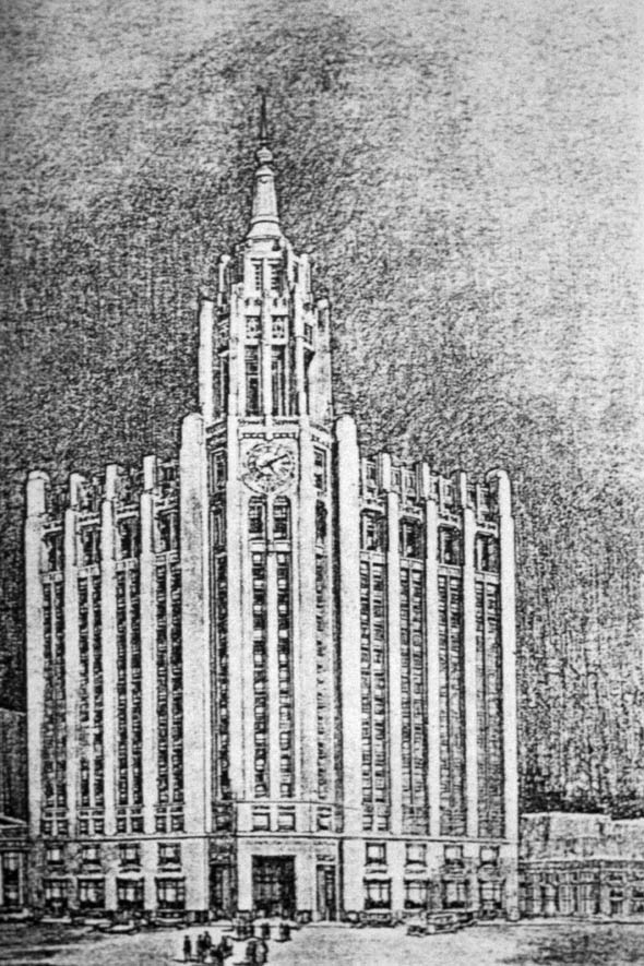 1929 – Proposal for Richardson Building, Winnipeg