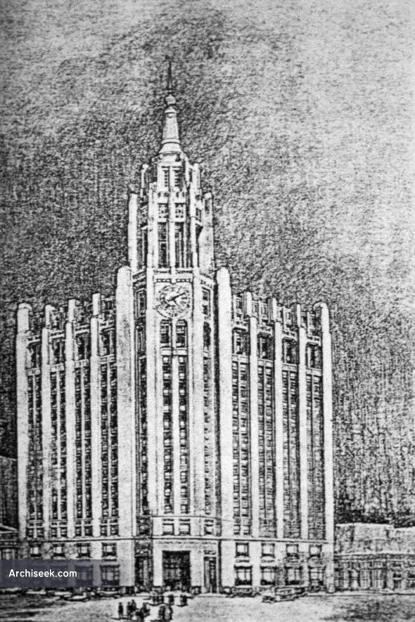 1929 – Proposal for Richardson Building, Winnipeg