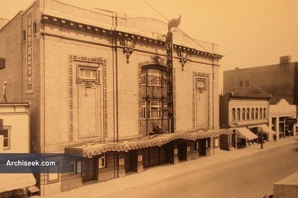 1911 – Orpheum Theatre, 283 Fort Street, Winnipeg