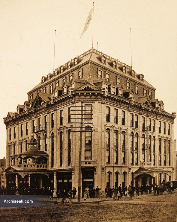 1883 – Leland Hotel, Winnipeg