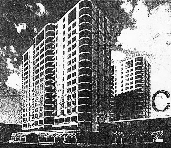1994 &#8211; Proposed Lions Tribune Towers, Winnipeg